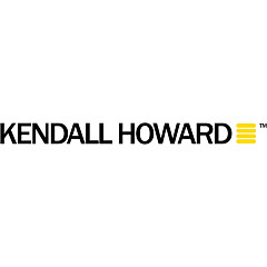 "Kendall Howard 1U 12"" Vented Light Duty Rack Shelf"
