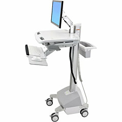 Ergotron StyleView EMR Cart with LCD Arm, LiFe Powered