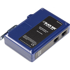 Black Box Industrial Ethernet Surge Protector, DIN Rail