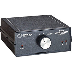 Black Box Local/Remote Electronic Switch, ABC (2 to 1)