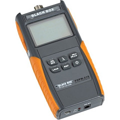 Black Box Deluxe Optical Power Meter with Memory