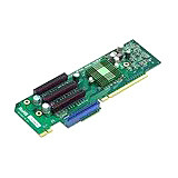 Supermicro 1 UIO & 3 PCI Express x8 Slot Riser Card Left Side