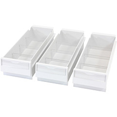Ergotron SV Replacement Drawer Kit, Triple (3 Small Drawers)