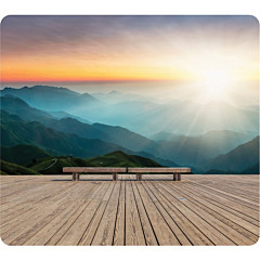 Fellowes Recycled Mouse Pad - Mountain Sunrise