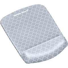 Fellowes PlushTouch Microban Mouse Pad Wrist Rest