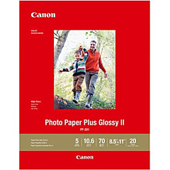 Canon Photo Paper Plus Glossy II - PP-301 - LTR (20 Sheets)