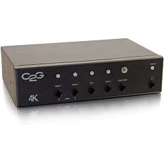 C2G DisplayPort, HDMI, and VGA to HDMI Adapter Converter Switch