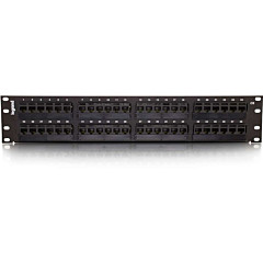 C2G 48-Port Cat6 110-Type Patch Panel