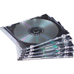 Fellowes Slim Jewel Cases - 50 pack
