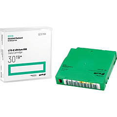 HPE LTO-8 Ultrium 30TB RW Custom Labeled Library Pack 20 Data Cartridges with Cases