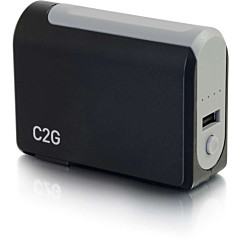 C2G 1-Port USB Wall Charger - AC to USB Adapter with Power Bank, 5V 1A Output