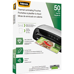 Fellowes Letter-Size Thermal Laminating Pouches