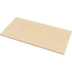 "Fellowes Levado Laminate Table Top Maple - 60""x30"""