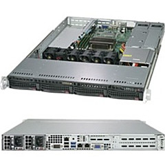 Supermicro SuperServer 5019C-WR (Black)