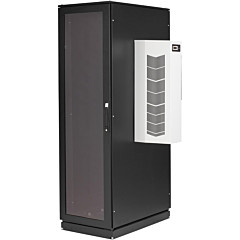 Black Box ClimateCab NEMA 12 Server Cabinet with 12000-BTU AC - 42U, M6 Rails, 230V