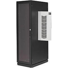 Black Box ClimateCab NEMA 12 Server Cabinet with AC - 42U, 6000BTU, M6 Rails, 120V