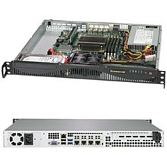 Supermicro SuperServer 5019C-M4L (Black)