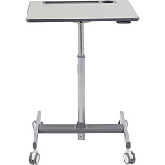 Ergotron LearnFit SE2 Sit-Stand Desk, Short (medium grey)