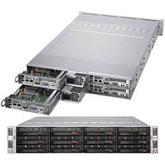 Supermicro SuperServer 6029TR-HTR (Black)