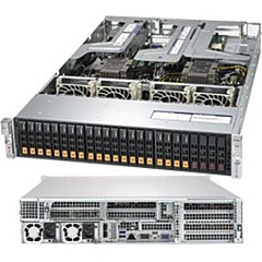 Supermicro SuperServer 2029UZ-TN20R25M (Black)