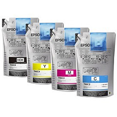 Epson T46C, 6 x 1000 mL Cyan UltraChrome DS Ink Packs
