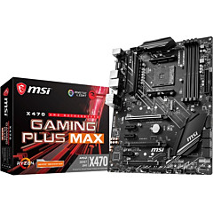 MSI X470 GAMING PLUS MAX Desktop Motherboard