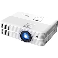 Optoma Voice Assistant-Compatible 4K UHD Projector