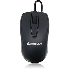 IOGEAR 3-Button Optical USB Wired Mouse