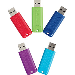 Verbatim 32GB PinStripe USB 3.0 Flash Drive