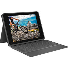 Logitech Rugged Folio The Ultimate Protective Keyboard Case for iPad (7th Generation)