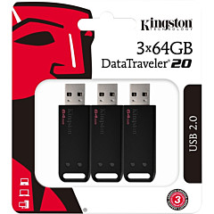 Kingston 64GB DataTraveler 20 DT20 USB 2.0 Type A Flash Drive
