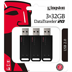 Kingston 32GB DataTraveler 20 DT20 USB 2.0 Type A Flash Drive