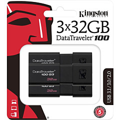 Kingston DataTraveler 100 G3 USB Flash Drive