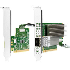 HPE InfiniBand HDR PCIe3 Auxiliary Card with 150mm Cable Kit