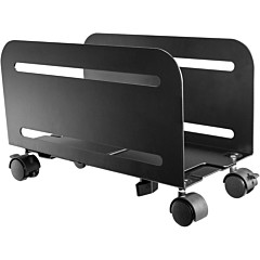 Tripp Lite Mobile CPU Caddy for Computer Towers - Width Adjustable, Locking Casters, Black
